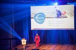 Jan Griesel introducing the new Ceres online store